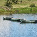 Fishing boats in the Knapps Loch!
