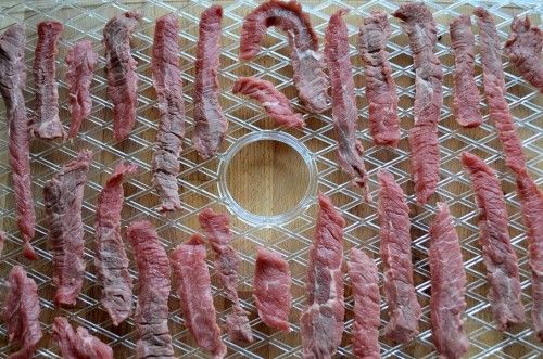 sliced beef on tray