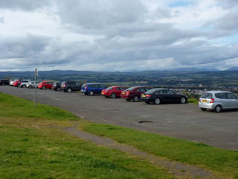 Gleniffer Braes Car Park In The Sky