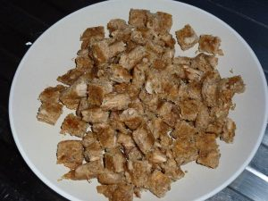 Tuna loaf pieces