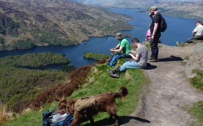 BDWS visit the Trossachs and walk Ben A'an!