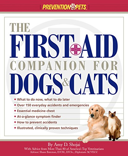 pet first aid book