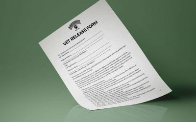 Free vet release form